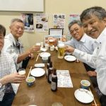 長崎の活性化へ「みぞれ酒」で乾杯