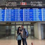 カナダにやってきました。