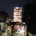 夜の東京のご褒美