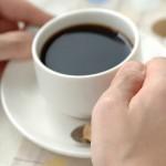 コーヒーをのんびりと