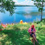 カナダでキャンプへ行きました