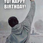 静かなお誕生日
