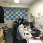 東京での仕事の風景